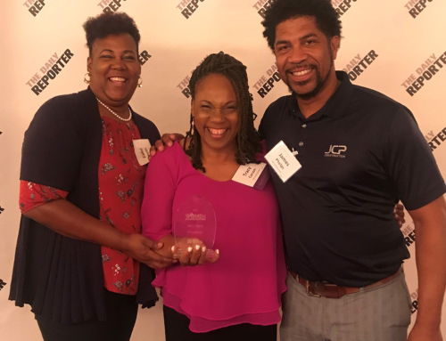 JCP's Tracy Carson Honored with the Women in Construction award