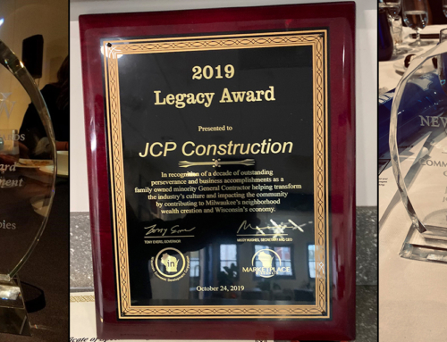 JCP Construction Wins Three Awards