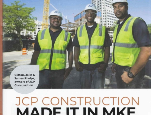 "JCP Construction Featured in ""Milwaukee Commerce"""