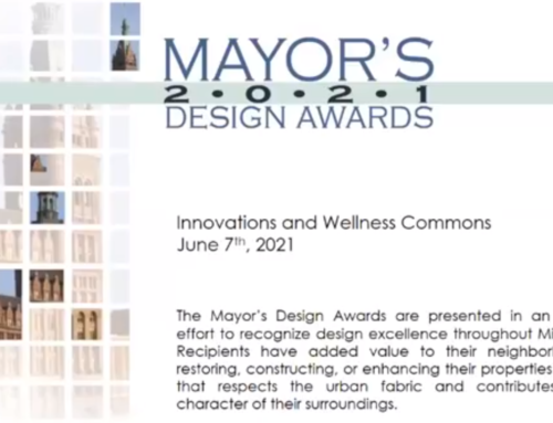 Four JCP Construction Projects Win 2021 Mayor Design Award